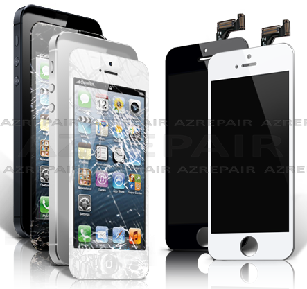 iPhone 5 Scherm Complete unit (glas touch en LCD) vervangen